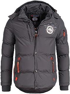 Geographical Norway Chaqueta acolchada de invierno para hombre, con capucha