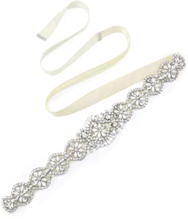 swarovski crystal belts wedding