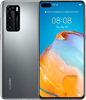 HUAWEI P40, 50 MP Ultra Vision Camera, VIP Service - Silver Frost
