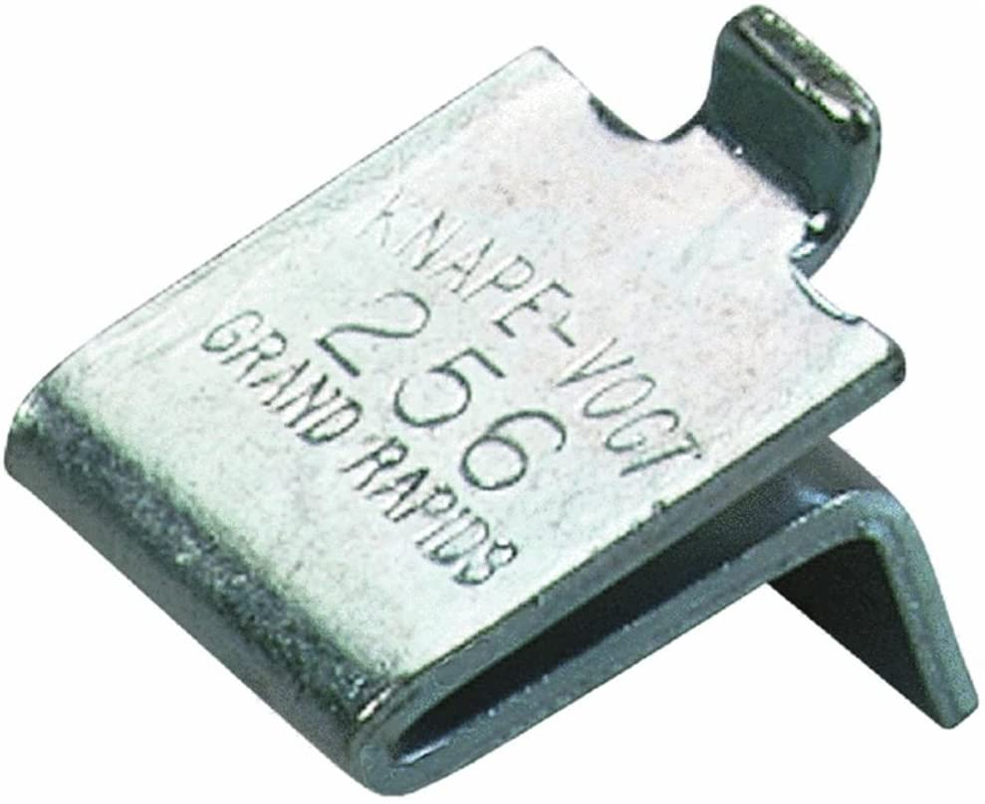 24 Knape /& Vogt  #256BR Shelf Clip Support Brass Plated 56 Pilaster Nails