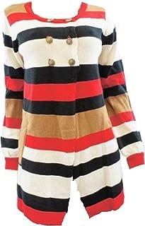 50575ab720f0 JANE NORMAN Striped Long Sleeve Jumper/Cardigan