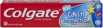 Colgate Kids Cavity Protection Toothpaste, Bubble Flavor, 4.6 Ounce
