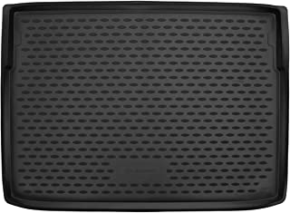 Element EXP.ELEMENT0197212N Tailored Custom Fit Rubber Boot Liner Protector Mat for Vauxhall Crossland X 2017 Black Estate Bottom Trunk