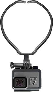 [TopEral] GoPro アクセサリー 2019最新版 ネックハウジングマウント ネックマン GoPro HERO7 7/6/5/4/3/2 Gopro fusion Xiaomi Yi,SJCAM Gopro session などに対応 ネックレス式 全般対応 スマホ マウントGoProアクションカメラ スマホ対応 POV 撮影 ビデオなどに最適 (第二世代)