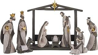 Best 11 piece hand painted nativity set Reviews