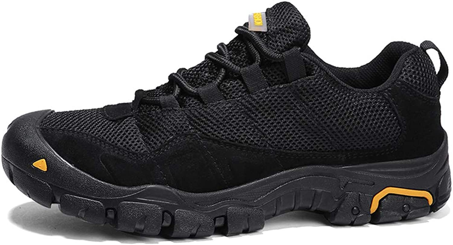 Men's Leather Hiking shoes Outdoor Mesh Sports shoes