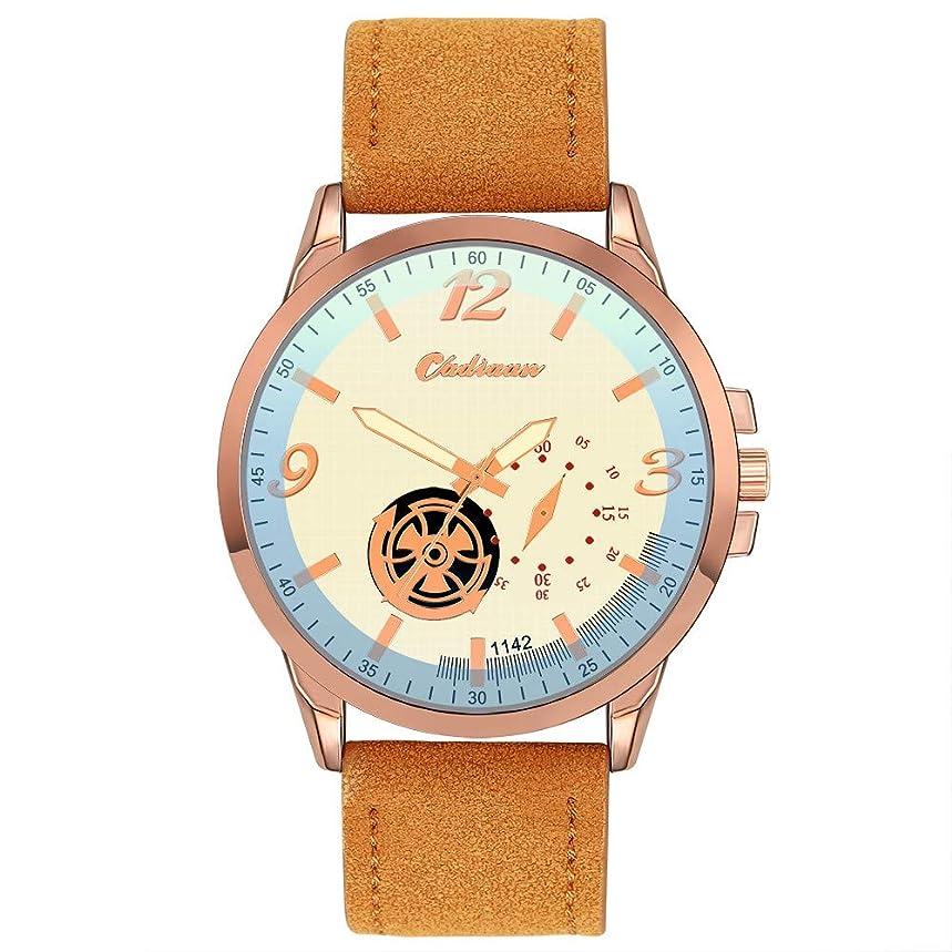 Wrist Watch for Men Under 10?Retro Design Leather Band Analog Alloy Quartz Wrist Watch