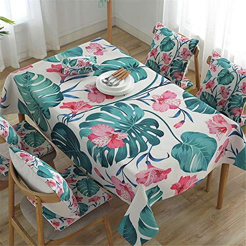 VitaLity Lappen zum Reinigen rechteckiger Tischdecken Tischdecken,wasserdichte Tischdecken für Partys,Kinderparty-Tischdecken,Weihnachtstischdecken 140X180cm