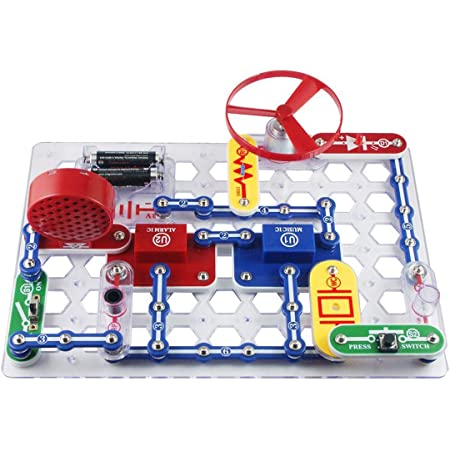 Snap Circuits Jr. 電脳サーキット100【国内正規代理店】日本語実験ガイド付き 電気や電子回路の仕組みが学べるおもちゃ Elenco SC-100