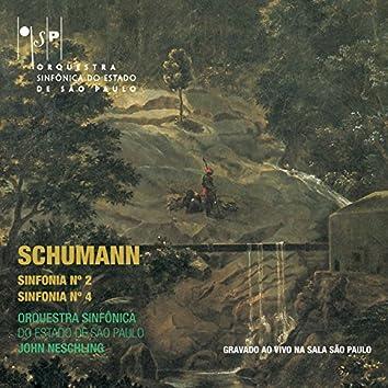 Schumann: Sinfonia No. 2 e Sinfonia No. 4