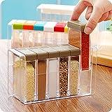 Yixin: recipiente para especias con compartimento para sal y azúcar