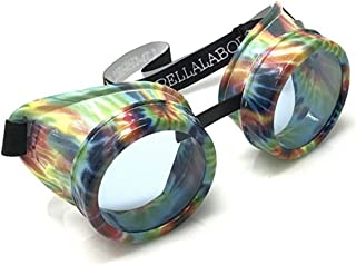 Steampunk Kaleidoscope Goggles Fly Eyes Historical Adults Fancy Dress Accessory