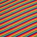 0,5m Bündchen Regenbogen 70cm breit Meterware