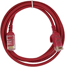 Leviton 6HHOM-4R Ultra High Flex Home 6 Patch Cable, 4-Foot, Red