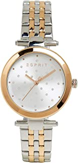 Esprit - Orologio in acciaio INOX con zirconi