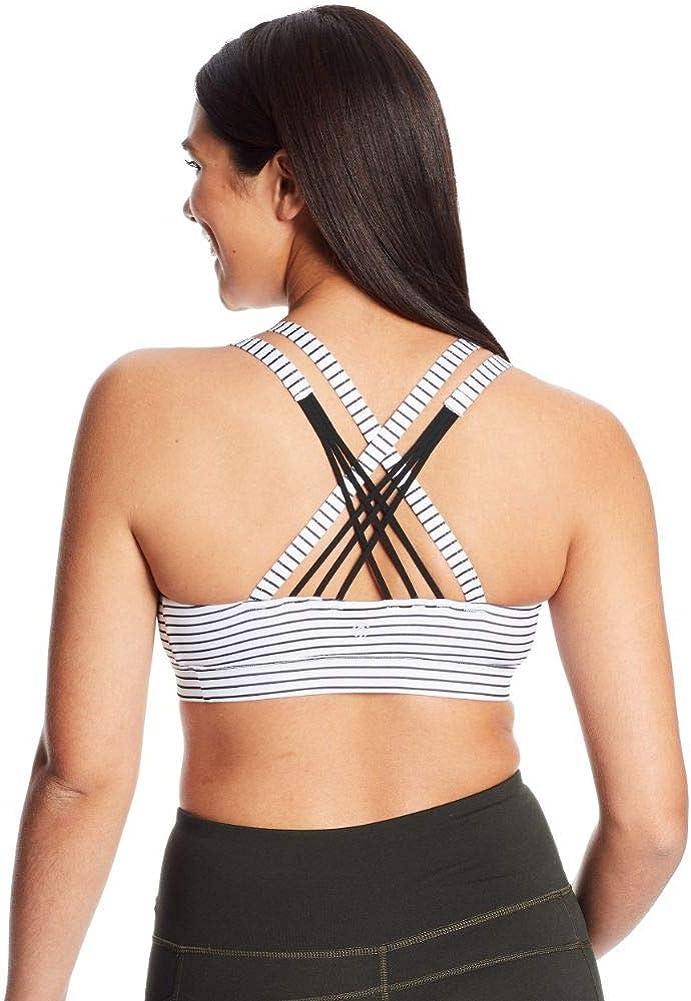 C9 Champion Womens Medium Support Compression Strappy Back Cami Bra