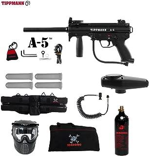 MAddog Tippmann A5 A-5 Specialist Paintball Gun Package