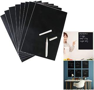 Curious Fish Unframed Blackboard krijtbord Sticker Zwart Zelfklevende Flexibele Muursticker Verwijderbaar Schrijven Wissen...