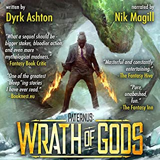 Page de couverture de Paternus: Wrath of Gods