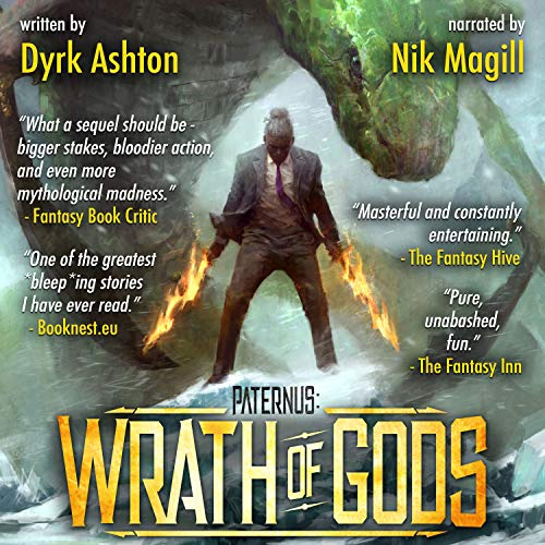 Paternus: Wrath of Gods audiobook cover art
