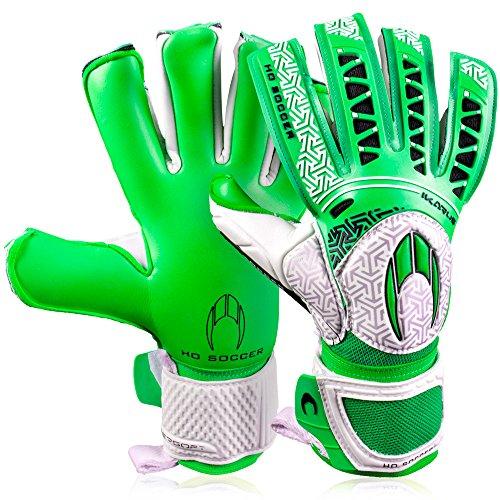 HO Soccer Ikarus Club Torwarthandschuhe, Unisex Erwachsene 37 grün