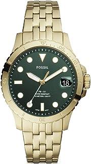 ساعت مچی کوارتز گاه به گاه از جنس استنلس استیل Fossil FB-01