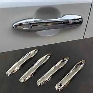 ل Toyota Corolla Sport Hatchback E210 2019، 4 قطع ABS كروم مقبض غطاء خارجي ملصق خارجي للديكور الخارجي