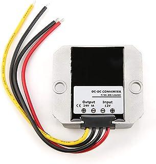 Weikeya Convertidor de Refuerzo, convertidor de Voltaje CC Compatible con protección contra Cortocircuitos con Carcasa de ...