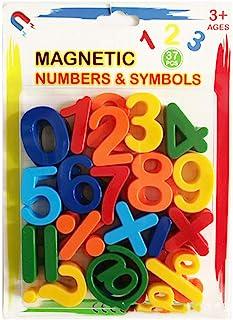100 Piezas Tidlo De Madera Educativos magnética números y símbolos De Matemáticas