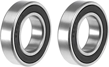 uxcell 6904-2RS Deep Groove Ball Bearing 20x37x9mm Double Sealed ABEC-3 Bearings 2-Pack