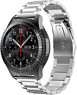 Watch Band,Cinhent Stainless Steel Bracelet Strap for Samsung Gear S3