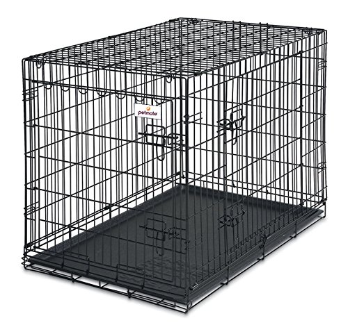 Petmate 34-Inch 2-Door Training Retreats Wire Kennel for Dogs, 50 to 70-Pound 20% AmazonPets Basic Crates Dog from Kennels on Petmate products Save Select Selection Selections Supplies to Top up
