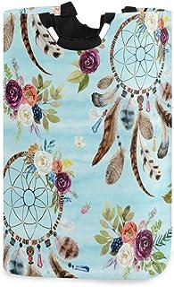 Panier à linge Alge motif floral tribal bohème pliable durable panier à linge panier de rangement panier à linge panier à ...