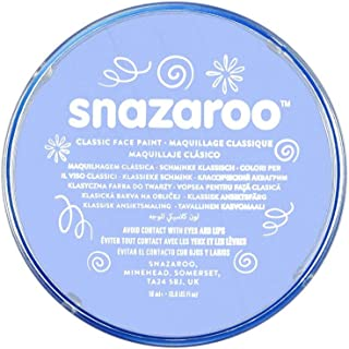 Snazaroo, Pale Blue Classic Face Paint, 18ml, Medium