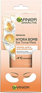 Garnier SkinActive Eye Tissue Mask Hyaluronic Acid and Orange Juice
