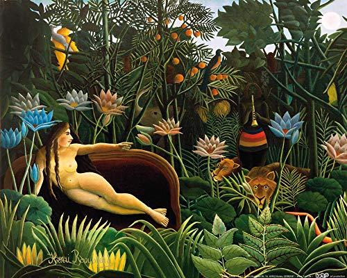 1art1 Henri Rousseau - Der Traum, 1910 Poster Kunstdruck 50 x 40 cm