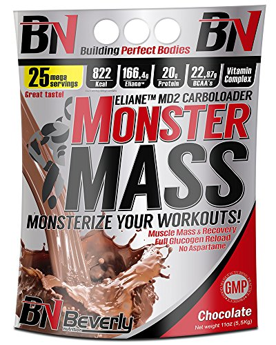 Beverly Nutrition Monster Mass Carbohidratos Sabor Chocolate - 5000 gr