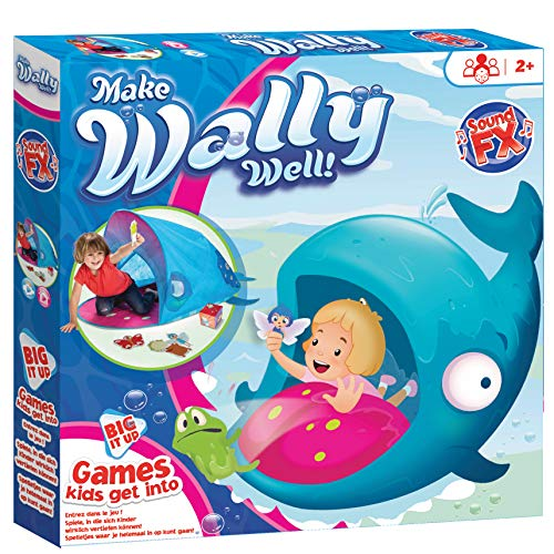 KidActive Big IT Up-Make Wally Well-Games Kids can get into, Blue