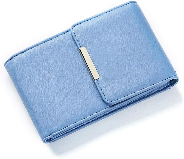 Girls Purse Women's Wallet,Single Shoulder Diagonal Cross Cell Phone Bag Lady Purse PU Leather (color   D)
