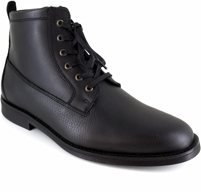 J.Bradford Low Boots Black Leather JB-Apple