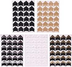 Artibetter 3 Fogli Adesivi Alfabeto Lettera e Numeri Adesivi autoadesivi Lucidi per lartigianato di Scrapbook