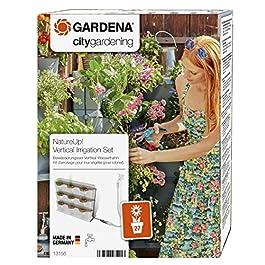 GARDENA Kit d'arrosage pour mur végétal NatureUp!: système d'arrosage pour jusqu'à 27plantes, arrosage invisible, raccord pour programmateur d'arrosage (13156-20)
