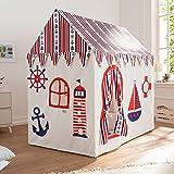Howa XXL Spielhaus Spielzelt Sailor incl. Bodenmatte Baumwolle 8507