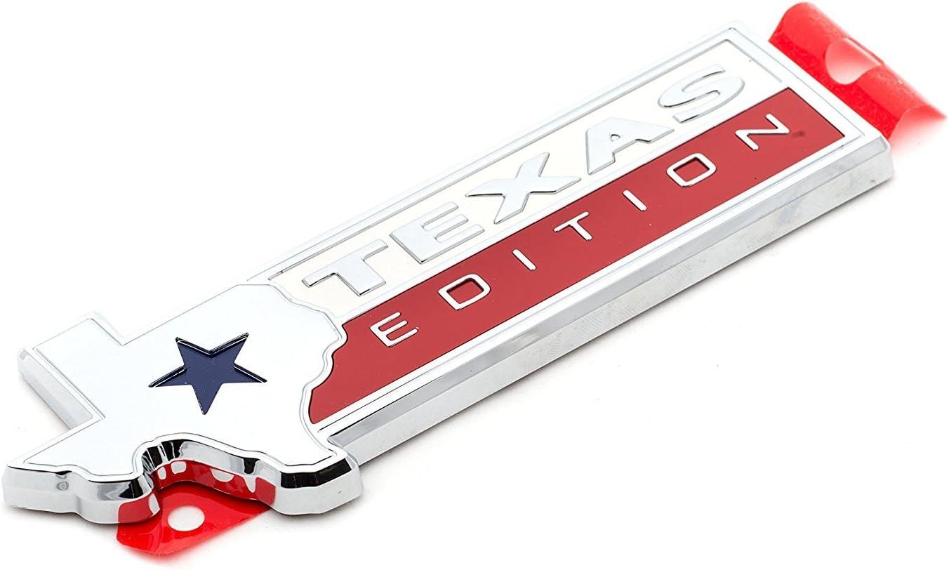 2015 wholesale 2016 Ford F-150 Chrome Namepl Emblem Texas Seasonal Wrap Introduction Edition Tailgate