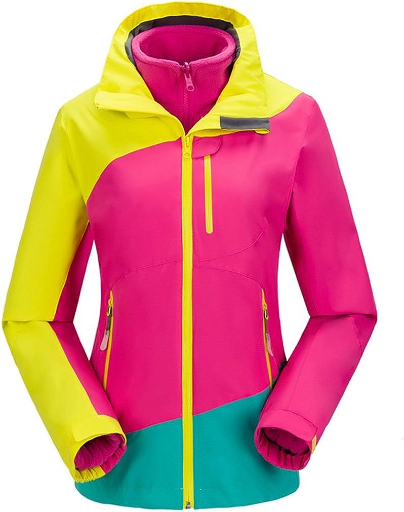 TOPWAY CIKRILAN Women's 3in1 Climbing Outdoor Jacket Waterproof Windproof Sports Coat
