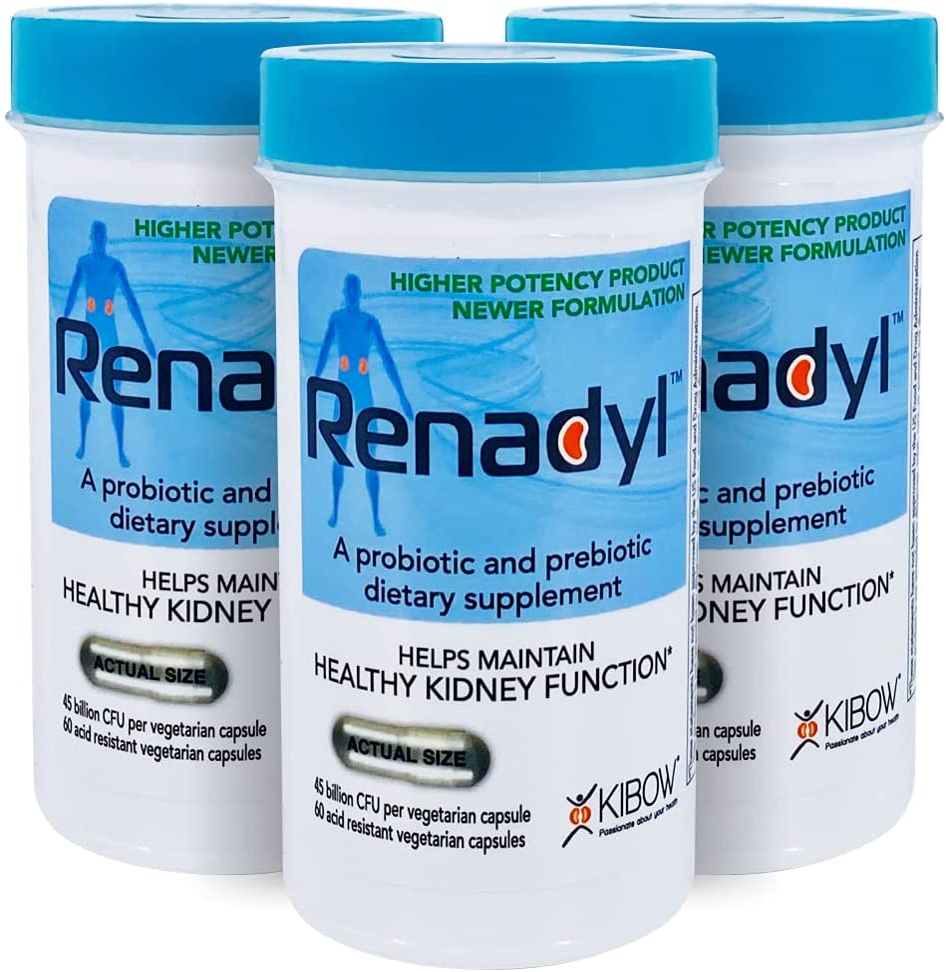 Renadyl™- Max 73% OFF All-Natural Max 50% OFF Probiotic Best Kidney Supplement - Bottl 3