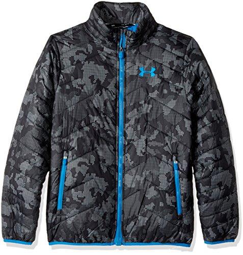 Under Armour Outerwear Jungen Cold Gear Reactor Jacke, Stahl/Cruise Blue, Größe XL