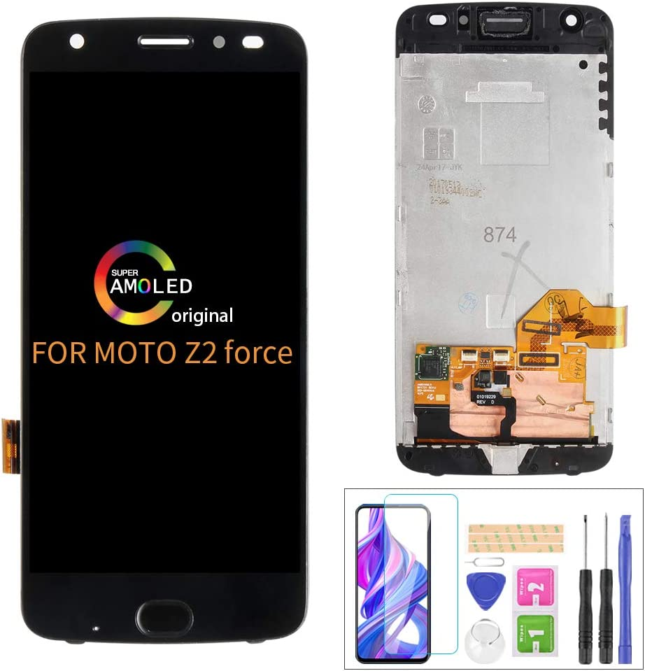 A-MIND Screen Replacement for Motorola Moto Z2 Force XT1789 5.5