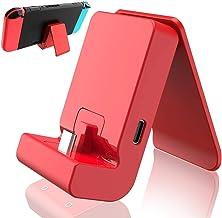 TwiHill Charging Dock para Nintendo Switch / Switch Lite, Switch Dock com porta de carregador USB tipo C (Preto)