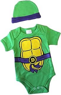 Knitwits Teenage Mutant Ninja Turtles Onesie and Hat Bundle Outfit